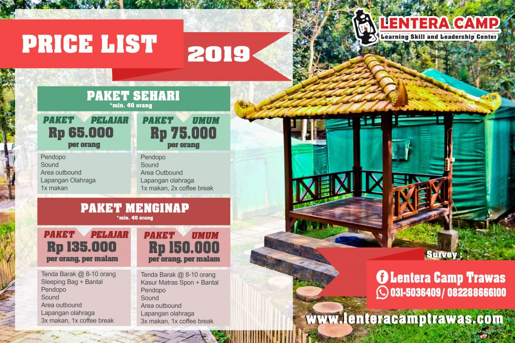 PAKET CAMP - 0822 8866 6100 || OUTBOUND TRAWAS - CAMPING