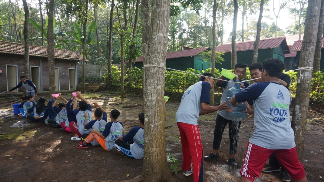 Lamong Youth Eco-Leadership Camp Outbound - PT. Terminal Teluk Lamong di Lentera Camp Trawas bersama Cartenz HRD